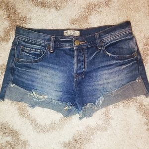 Free People Women's Denim Shorts